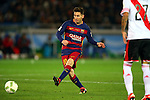 Lionel Messi (Barcelona),<br /> DECEMBER 20, 2015 - Football / Soccer :<br /> FIFA Club World Cup Japan 2015 Final match between River Plate 0-3 FC Barcelona at International Stadium Yokohama in Kanagawa, Japan. (Photo by AFLO)