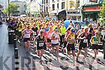 Girls on the run at the start of the Killarney ladies mini marathon on Saturday..