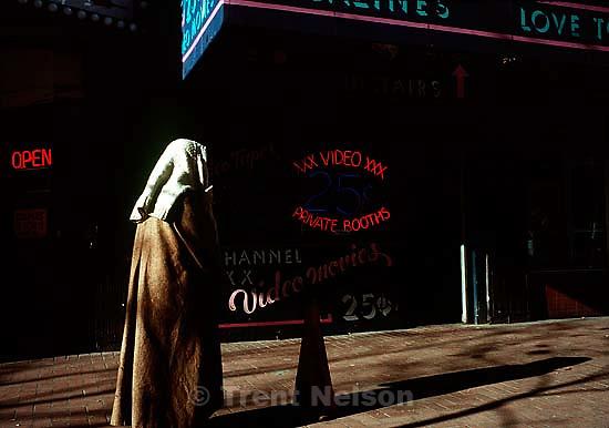 Street scene, december 1988.   &amp;#xA;<br />