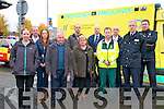 World Day Of Remembrance: Attending the Mass for World Day of Remembrance for Road Traffic victims at St. Mary's Church, Listowel on Sunday morning last were in front Joan Flynn, Eileen O'Flaherty, Pat Flynn, Ann Tydings, John Kelliher, Ambulance Service & Garda Shane Lenihan. Back : Pat Flynn, Maurice O'Connor, Liam Brennan, Ned Keane , Fire Service, Paul O'Sullivan, Fire Service & Sgt. Brian Fitzgerald, Listowel Garda.