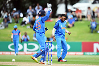 during the ICC U-19 Cricket World Cup 2018 Finals between India v Australia, Bay Oval, Tauranga, Saturday 03rd February 2018. Copyright Photo: Raghavan Venugopal / © www.Photosport.nz 2018 © SWpix.com (t/a Photography Hub Ltd)