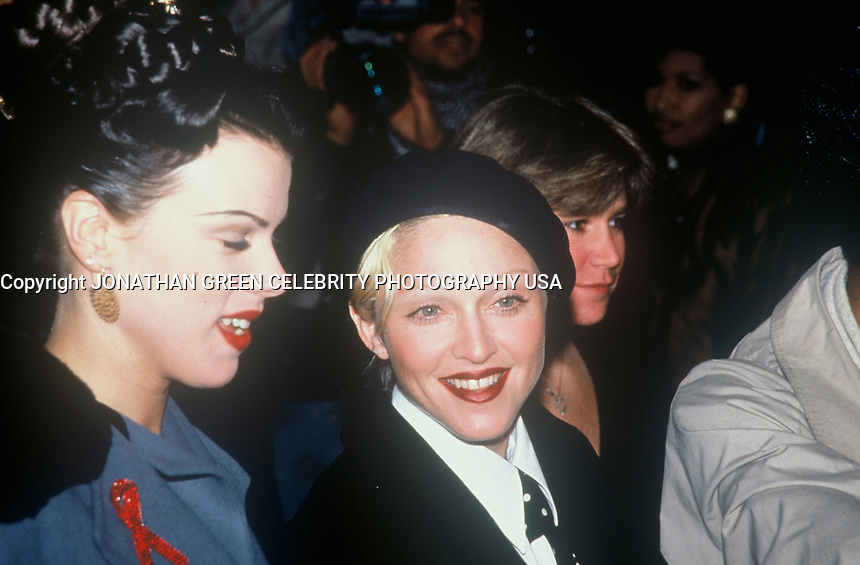 Madonna.at movie premiere in NYC 1992.for Malcolm X Film by spike lee.