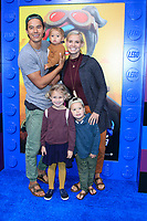 "LOS ANGELES - FEB 2:  Bucket List Family at ""The Lego Movie 2: The Second Part"" Premiere at the Village Theater on February 2, 2019 in Westwood, CA"