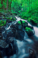 738600034 wahkeenah falls and stream in the columbia river gorge natioinal scenic area in northern oregon