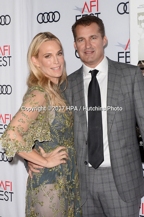 """LOS ANGELES - NOV 9:  Molly Sims, Scott Stuber at the """"Mudbound"""" Opening Gala of AFI Fest 2017 at the TCL Chinese Theater IMAX on November 9, 2017 in Los Angeles, CA"""