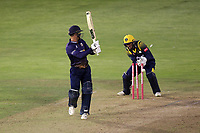 Ryan ten Doeschate of Essex is bowled out by Colin Ingram during Glamorgan vs Essex Eagles, Vitality Blast T20 Cricket at the Sophia Gardens Cardiff on 7th August 2018