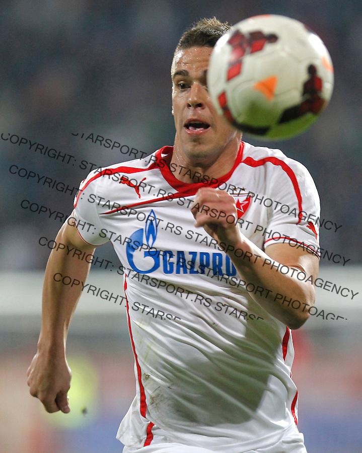 Fudbal Super liga season 2013-2014<br /> Radnicki Nis v Crvena Zvezda<br /> Aleksandar Kovacevic<br /> Nis, 26.10.2013.<br /> foto: Srdjan Stevanovic/Starsportphoto &copy;