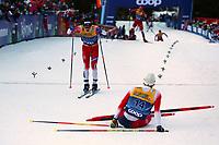 5th January 2020; Val Di Fiemme Ski Resort, Val Di Fiemme, Trento, Italy; International Ski Federation Audi FIS Mens Cross Country Ski World Cup, Tour De Ski Val Di Fiemme; Simen Krueger (NOR), Sjur Roethe (NOR)