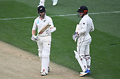 23rd March 2018, Eden Park, Auckland, New Zealand; International Test Cricket, New Zealand versus England, day 2;  Kane Williamson appeals his LBW decision