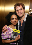 Lauren Ridloff and Joshua Jackson attend Broadway's 'Boys in the Band' hosted Midnight Performance of 'Three Tall Women' to Honor Director Joe Mantello at the Golden Theatre on May 17, 2018 in New York City.