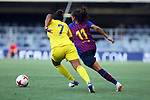 FC Barcelona vs Chelsea FC: 1-1.<br /> Carter vs Andressa Alves.