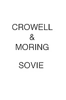 Crowell & Moring SOVIE
