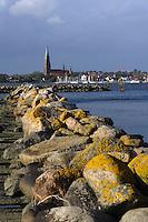Blick von Haddeby auf  Schleswig ,Schleswig Schleswig-Holstein, Deutschland