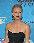 LOS ANGELES, CA. - October 17: Kaley Cuoco  arrives at Spike TV's Scream 2009 held at the Greek Theatre on October 17, 2009 in Los Angeles, California.