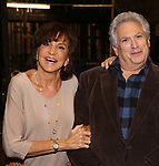"""Mercedes Reuhl and Harvey Fierstein attends the Broadway cast photo call for """"Torch Song"""" at the Hayes Theatre on September 20, 2018 in New York City."""