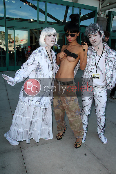 Bai Ling<br /> topless at 2014 Comikaze Convention, Los Angeles Convention Center, Los Angeles, CA 11-01-14<br /> David Edwards/DailyCeleb.com 818-249-4998
