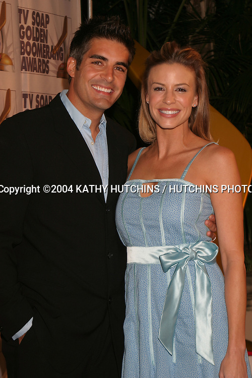 ©2004 KATHY HUTCHINS / HUTCHINS PHOTO.THE GOLDEN BOOMERANG AWARDS 2004.PRESENTED BY TV SOAP MAGAZINE OF AUSTRALIA.JANUARY 23,  2004..GALEN GERING.AND WIFE