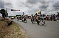 Team LottoNL-Jumbo<br /> <br /> stage 9: TTT Vannes - Plumelec (28km)<br /> 2015 Tour de France
