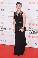 Dorothy Atkinson arriving for the Moet British Independent Film Awards 2014, London. 07/12/2014 Picture by: Alexandra Glen / Featureflash