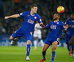 Robert Huth of Leicester City - English Premier League - Leicester City vs Chelsea - King Power Stadium - Leicester - England - 14th December 2015 - Picture Simon Bellis/Sportimage