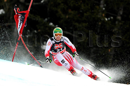 29 12 2009  Ski Alpine FIS WC Bormio Dowmhill  men Bormio Italy 29 Dec 09 Ski Alpine FIS World Cup Dowmhill  for men Picture shows Klaus Kroell AUT .