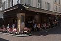 Paris, France. 09.05.2015. Bistrot Le Mouffetarde, Rue Mouffetarde, 5th Arrondissement, Paris France. Photograph © Jane Hobson.
