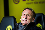 09.02.2019, Signal Iduna Park, Dortmund, GER, 1.FBL, Borussia Dortmund vs TSG 1899 Hoffenheim, DFL REGULATIONS PROHIBIT ANY USE OF PHOTOGRAPHS AS IMAGE SEQUENCES AND/OR QUASI-VIDEO<br /> <br /> im Bild | picture shows:<br /> Hans-Joachim Watzke (Geschüftsführer BVB),<br /> <br /> Foto © nordphoto / Rauch