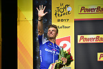 Green Jersey Marcel Kittel (GER) Quick-Step Floors wins his 5th stage, Stage 11 of the 104th edition of the Tour de France 2017, running 203.5km from Eymet to Pau, France. 12th July 2017.<br /> Picture: ASO/Pauline Ballet | Cyclefile<br /> <br /> <br /> All photos usage must carry mandatory copyright credit (&copy; Cyclefile | ASO/Pauline Ballet)