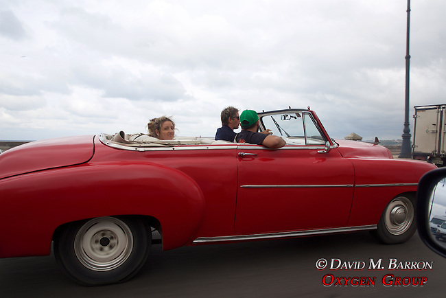 Riding In  An Old American Car