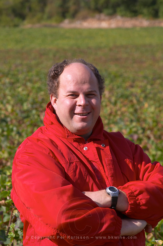 Laurent Juillot owner dom m juillot mercurey burgundy france