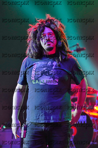 Counting Crows - vocalist Adam Duritz - performing live at the Apollo Hammersmith in London UK - 22 Apr 2013. Photo credit: George Chin/IconicPix