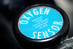 Close up of an oxygen sensor. Royalty Free