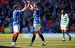 12.05.2019 Rangers v Celtic: Nikola Katic and James Tavernier