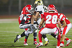 Redondo Beach, CA 10/14/11 - in action during the Peninsula vs Redondo Union varsity football game.