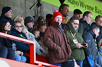 Crawley fans during Crawley Town vs Fleetwood Town, Emirates FA Cup Football at Broadfield Stadium on 1st December 2019