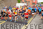 The start of the Blennerville 10k run on Sunday morning.