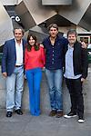 Jose Coronado, Mercedes Moran, Alberto Ammann and director Miguel Cohan present the film 'Betibu' at Cinema Princesa in Madrid. September 09, 2014. (ALTERPHOTOS / Nacho Lopez)