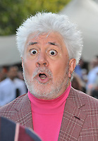 """LONDON, ENGLAND - AUGUST 08: Pedro Almodovar at the """"Pain and Glory"""" Film4 Summer Screen opening gala & launch party, Somerset House, The Strand, on Thursday 08 August 2019 in London, England, UK.<br /> CAP/CAN<br /> ©CAN/Capital Pictures"""