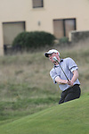 Day one of the Irish PGA championship at Seapoint Golf Club, Graeme Dunlea from Adare Manor Hotel and Golf Resort. hitting onto the 9th green...Picture Jenny Matthews/Newsfile.ie