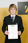 Boys Gym Artistic/Tumbling winner Reid McGowan. ASB College Sport Young Sportperson of the Year Awards 2007 held at Eden Park on November 15th, 2007.