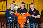 Atlantic Diesel Services LTD sponsoring a new set of jerseys for the Ballyheigue U10/U12&rsquo;s.<br /> Cara Flahive (Sec), Mike Cantillion (Atlantic Diesel Services) and Colm Horgan (Chairman).