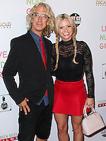 HOLLYWOOD, LOS ANGELES, CA, USA - AUGUST 12: Andy Dick, Bree Olson at the Los Angeles Premiere Of Screen Media Films' 'Live Nude Girls' held at Avalon on August 12, 2014 in Hollywood, Los Angeles, California, United States. (Photo by Xavier Collin/Celebrity Monitor)
