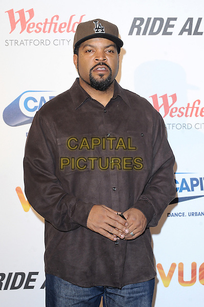 LONDON, ENGLAND - FEBRUARY 27: Ice Cube attends a Capital Xtra Special Fan Screening of Ride Along at Westfield Stratford City on February 27, 2013 in London, England.<br /> CAP/BEL<br /> &copy;Tom Belcher/Capital Pictures