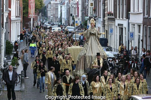 20100929 - Utrecht - Foto: Ramon Mangold - .Gouden Kalveren Defile..Nederlands Film Festival 2010