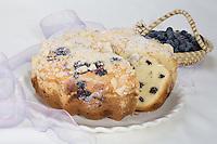 Blueberry Pound Cak