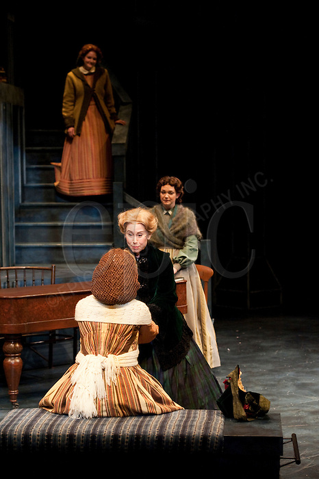 Archival photos of the dress rehearsal for Little Women at the Citadel Theatre in Edmonton, Alberta, Canada April 29, 2011. Photo by Marc Chalifoux, EPIC Photography ..