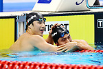 -R) <br />  Nao Horomura, <br />  Daiya Seto (JPN), <br /> AUGUST 19, 2018 - Swimming : <br /> Men's 200m Butterfly Final <br /> at Gelora Bung Karno Aquatic Center <br /> during the 2018 Jakarta Palembang Asian Games <br /> in Jakarta, Indonesia. <br /> (Photo by Naoki Nishimura/AFLO SPORT)
