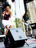 Straight Line Stitch performing at Heavy MTL 2011 in Montreal, QC.
