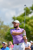 Tyrrell Hatton (ENG) watches his tee shot on 7 during round 4 of the Arnold Palmer Invitational at Bay Hill Golf Club, Bay Hill, Florida. 3/10/2019.<br /> Picture: Golffile | Ken Murray<br /> <br /> <br /> All photo usage must carry mandatory copyright credit (© Golffile | Ken Murray)