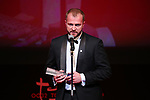 "Andriy Rymaruk, November 05, 2019 - Andriy Rymarukh, speak after winning ""Special Jury Prize"" for the film ""Atlantis""during the 32nd Tokyo International Film Festival, award ceremony, in Tokyo, Japan on November 05, 2019. (Photo by 2019 TIFF/AFLO)"